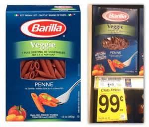 Barilla veggie pasta orange